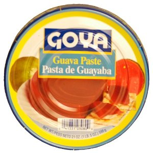 tin of guava paste