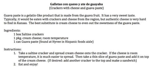 guava crackers recipe